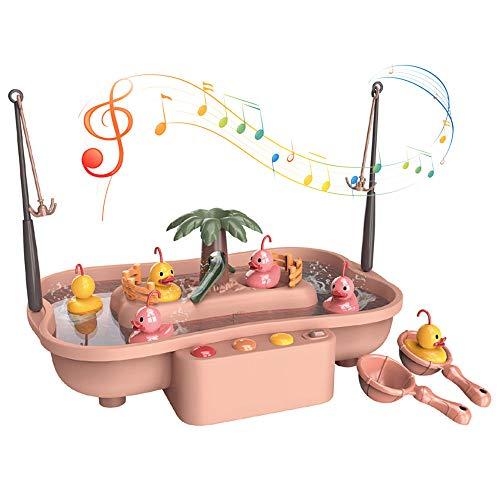 Arkmiido Angeln Spielzeug Badespielzeug Elektrisches Wasserzirkulations-Angelspielzeug Für Jungen und Mädchen über DREI Jahre.