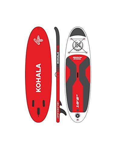 KOHALA Tabla de Paddle Surf Arrow School - Tipo Begginer - Capacidad Máxima 140 kg - Ideal para iniciación