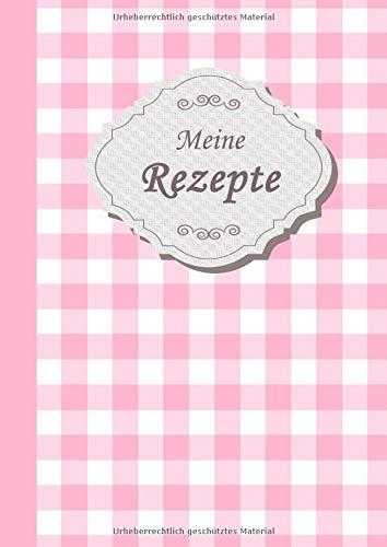 Rezeptbuch zum Selberschreiben: Das Personalisierte Kochbuch mit Register zum Ausfüllen und selbst schreiben