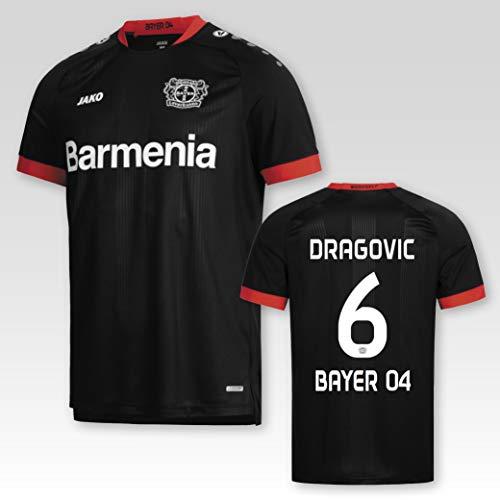 JAKO Bayer 04 Leverkusen Heimtrikot 2020/2021 Erwachsene mit Spielerflock Dragovic Nr. 6 (XXL)