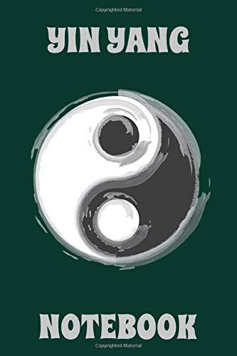 Yin Yang - Notebook - Dark Cyan - Gray - College Ruled