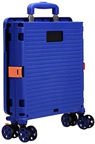 Rabbfay Pieghevole Utility Montascale Trolley, Utilità di Grande Capienza Carrello con 4 Ruote, per Adolescenti, Anziani, Disabili, Messe,1