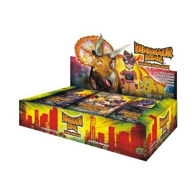 Upper Deck 201202 - TC Dinosaur King Booster 01