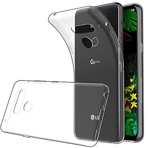 Funda LG G8 ThinQ TPU Transparente Slim Silicona Case Cover [Anti-arañazos] para LG G8 ThinQ