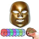 PDT Photon therapie Maske Skin Care 7 in 1 Lichtbehandlung Maske Schönheit Lichttherapie 7 Farben Hautverjüngungs Gesichtsmaske Gesichtspflege Anti-falten Anti-Akne Akne-Pickel Anti-Aging