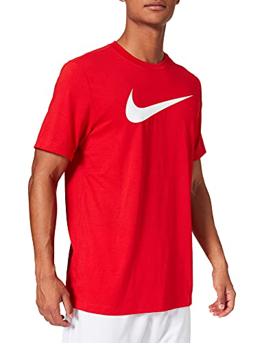 NIKE Camiseta para Hombre Team Club 20 tee, Hombre, Camiseta, CW6936, Rojo/Blanco, Small