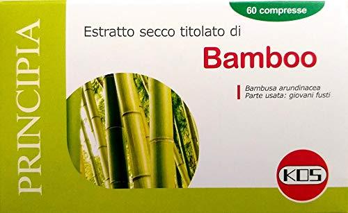 KOS - BAMBOO ESTRATTO SECCO 60 COMPRESSE benessere di unghie, capelli