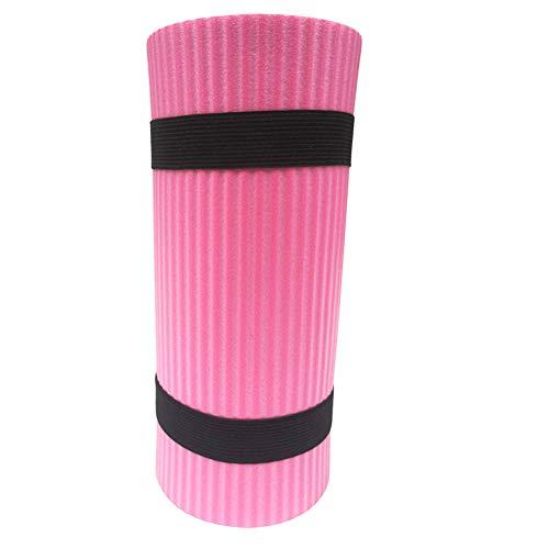 AmandaJ Cojín de Yoga para la Rodilla, Almohadilla para el Ejercicio, Suplementos adicionales para su Esterilla de Yoga (tamaño 60x25x1.5cm)