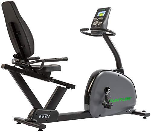 Tunturi Liegerad E50-R Bike Performance - Schwungscheibe: 11 kg - Servo Motor - Programme: 32 (1 Wattprogramm 10 W-350 W) - I-console+ - Fit Hi Way - Kinomap