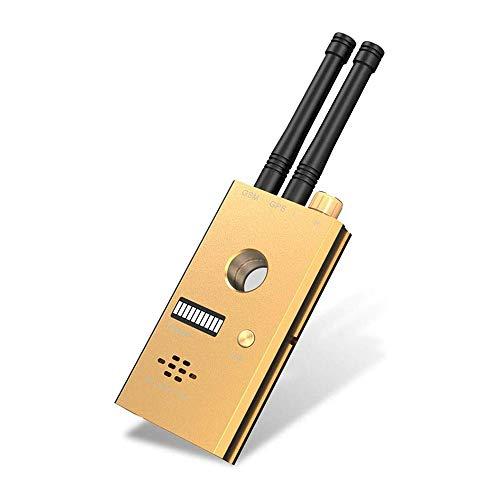 HYDDG Anti-Spy Detector Detector, Detectar Amplio Distancia Inalámbrico Radio Señal, Doble Antena Alto Sensible Anti-Spy RF GPS Detector gsm Audio Error más Claro descubridor