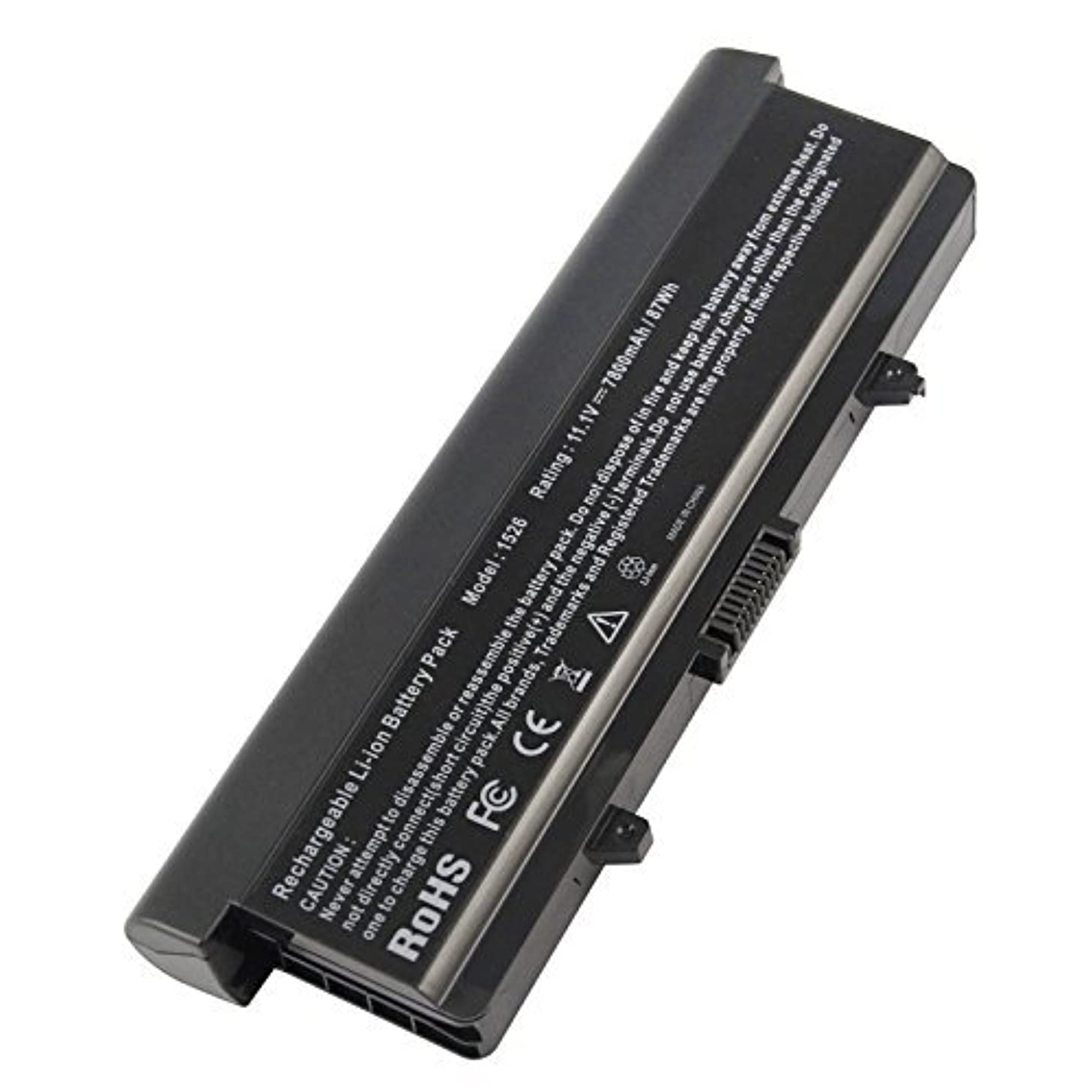 High Capacity Battery for Dell Inspiron 1545 1526 1525 PP41L PP29L Series Laptop Battery, Fits P/N: GP952 GW252 GW240 X284G RN873 M911 M911G [7800mAh/11.1V/9-Cells] - 12 months warranty