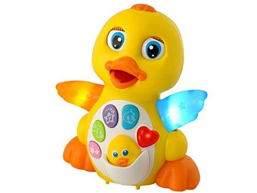 ISO TRADE Interaktives Entenspielzeug für Kinder Ente Entchen für Kleinkinder 6287