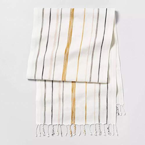 Hearth & Hand with Magnolia Stripe Oversized Runner - Sour Cream Multi Stripe