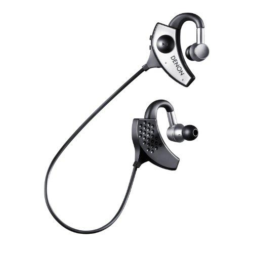 DENON イヤホン Bluetooth対応 ワイヤレス シルバー AH-W200