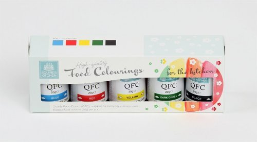 Squires Kitchen High Quality Food Colour Paste Kit 1