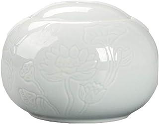 セラドン蓮の葉セラミック茶缶シール缶ユニバーサルティー缶,蓮,A BNM1