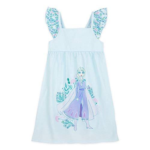 Disney Frozen 2 Elsa Nightshirt for Girls, Size 3