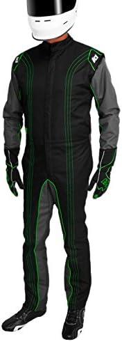 K1 Race Gear Max 55% OFF CIK FIA Level 2 Approved Green Suit Kart Racing X Alternative dealer