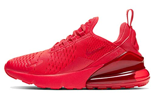 Nike Air Max 270 (gs) Big Kids Casual Running Shoes Cw6987-600 Size 7
