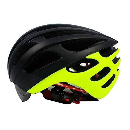 Cascos de ciclismo todo terreno Casco de bicicleta de montaña ultraligero con...