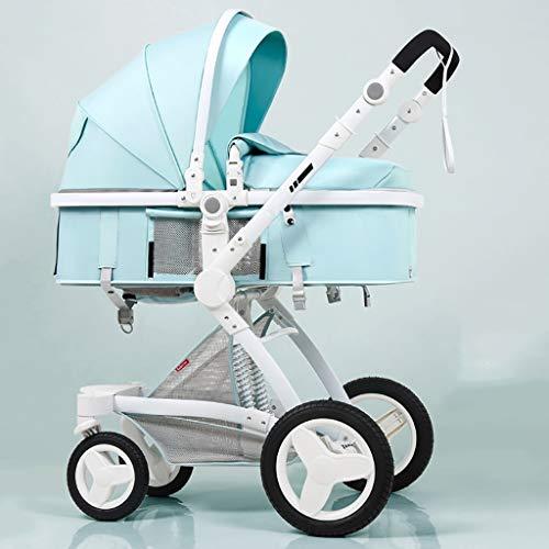 Buy Bargain KHUY Lightweight Stroller Buggy,Baby Stroller Basket can sit Reclining Folding 2 in 1 Sh...