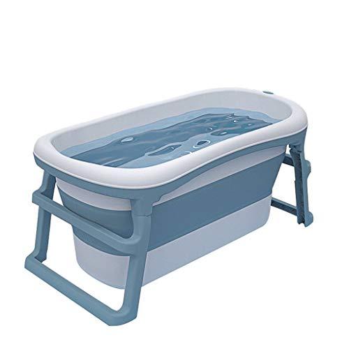 Bañera Plegable Adulto,Baño Barril de Hogares Gran Bañera Portátil Piscina Para Niños Espesado Plegable Bañera Hidromasaje