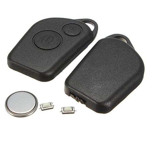 C-FUNN 2 Boutons D'Alarme À Distance À Télécommande Fob Case Kit pour Citroen Saxo Picasso