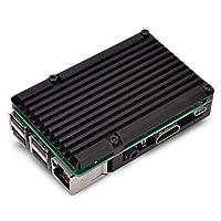 LOCKYOU Raspberry Pi 3 Generation Bタイプ2b / 3bアルミニウム合金ケースエンクロージャー冷却ファン用