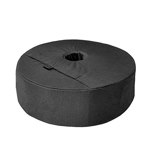 Parasol Stand Weight Bag - Patio Round Umbrella Base Weight Bag, Sand Bag Weights Umbrella Parasol Tent Base Stand Patio Sunshade, Parasol Stand Bag For All 3.15in Outdoor Patio Umbrellas Or Flagpoles