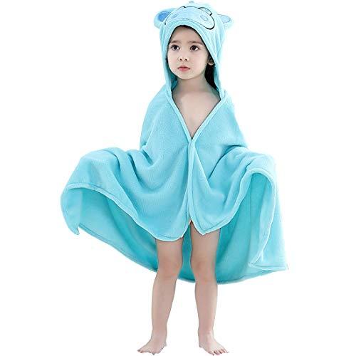 ALLAIBB Baby Morgenmantel Bademantel Handtuch Kleinkind Kapuzenshirt 60CM120CM Size 60 * 120 (Nilpferd)