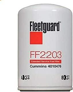FF2203 Genuine Fleetguard Fuel Filter (Pack of 6)