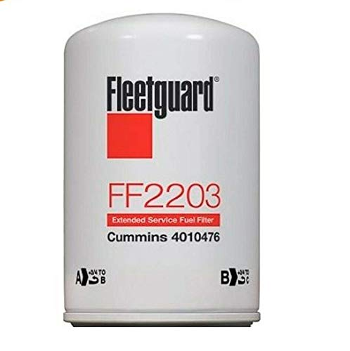 FF2203 Genuine Fleetguard Fuel Filter (Pack of 6)