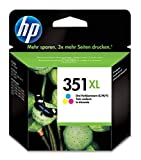 HP 351XL CB338EE haut rendement, cartouche d'encre Authentique, imprimantes HP DeskJet, HP OfficeJet...