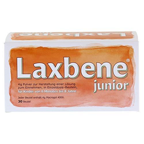 LAXBENE junior 4 g Plv.z.H.e.Lsg.z.Einn.Kdr.6M.-8J 30X4 g Pulver zur Herstellung einer Lösung zum Einnehmen