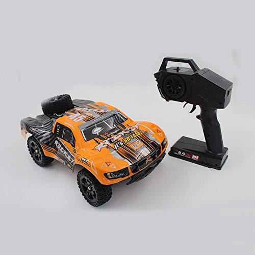 LKOER 1/16 Carreras Recargables de Carreras 4x4 Crawlers Off Road Vehicle Radio RC Toy Coche 30km / h Máquina controlada rápida RC Monster ... jinyang ( Color : Orange )
