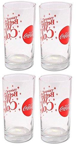 Libbey Coca Cola Sparkle Cooler Lot de 4 verres 473 ml