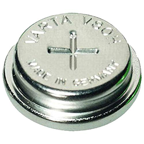 Varta V80H 1.2V 80mAh NiMH Button Cell Battery 55608101501 For measuring equipment, memory backuup, real time clocks, mobile lights, lighting, industrial timepieces, GPS-Tracker, Wireless Beacon