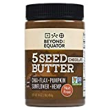 Beyond the Equator - 5 Seed Butter [Chocolate] 16 Ounces|1 Pack. No Peanuts, No Tree Nuts. Sunflower, Chia, Flaxseed, Pumpkin, Hemp Hearts. Low Carb, Keto, Non-GMO, Omega-3, Omega-6, Allergy-Friendly. (Unknown Binding)