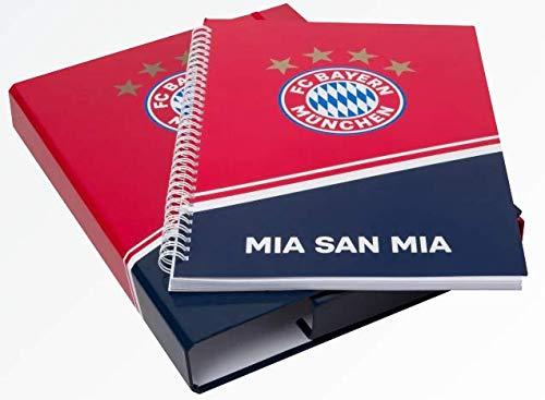 FC Bayern München Schulset/Hefetebox/Collegeblock ** Heftebox mit Collegeblock DIN A4 **