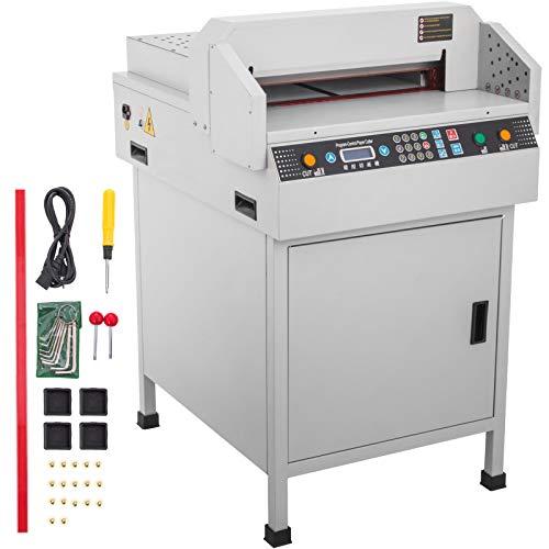 Mophorn Electric Paper Cutter 450mm 17.7 Inch Paper Cutter Guillotine Numerical Control Automatic...