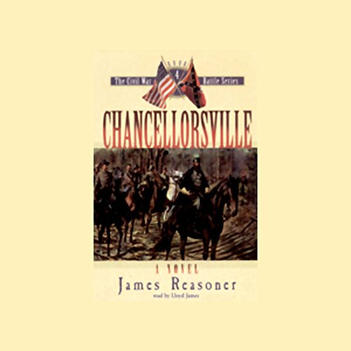 Chancellorsville audiobook cover art