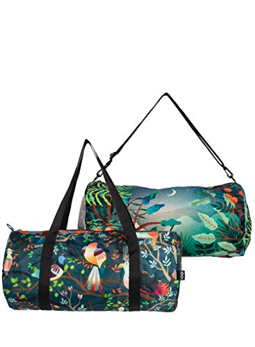 LOQI LOQI HVASS & Hannibal Bird & Arbaro Weekender Sports Bag, 50 cm, Bird & Arbaro