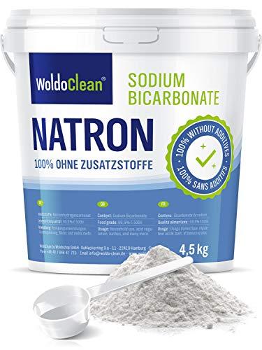Natron Pulver 4,5 kg in Lebensmittelqualität inkl. Dosierlöffel Vegan