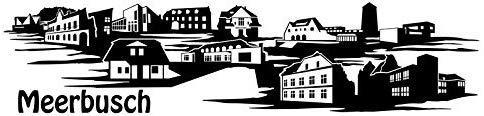 Wandtattoo Skyline Meerbusch XXL Text Stadt Wand Aufkleber Wandsticker Wandaufkleber Deko sticker Wohnzimmer Autoaufkleber 1M174, Skyline Größe:Länge 250cm