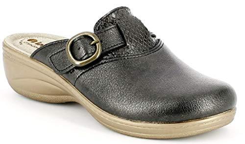 inblu Pantofole Ciabatte Invernali da Donna Art. LY-45 Canna di Fucile (41)
