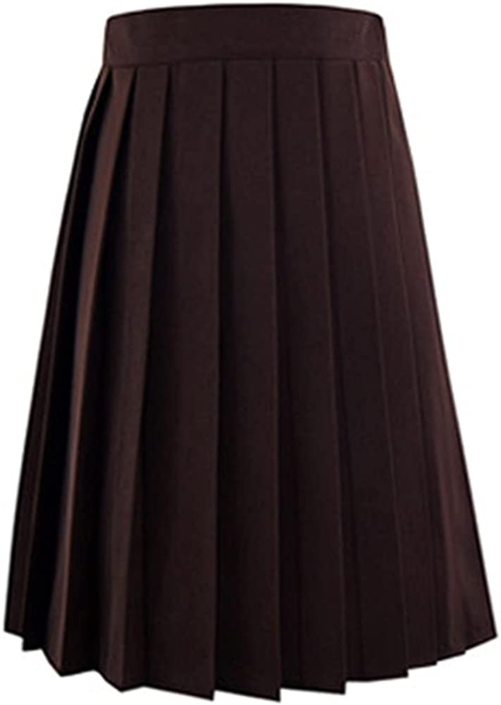 NP Summer Waist Anime Black Skirts Womens