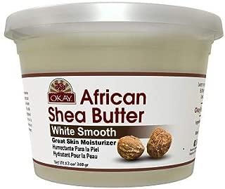 white shea butter