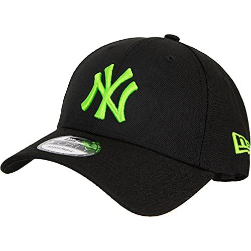 New Era MLB Neon Pack NY Yankees 9Forty Cap nero/verde Taglia unica