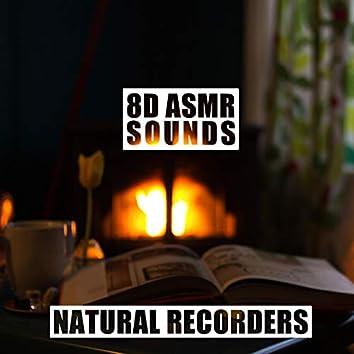 8d Asmr Sounds With Crackling Fireplace
