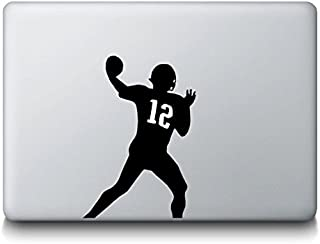 Patriots Quarterback Tom Brady NFL Football Sports Sticker Decal MacBook, Air, Pro All Models